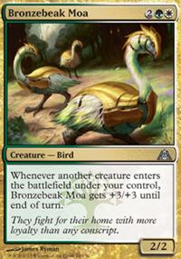 Bronzebeak Moa - Dragon's Maze