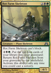 Rot Farm Skeleton - Dragon's Maze