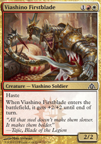 Viashino Firstblade - Dragon's Maze