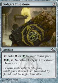 Golgari Cluestone - Dragon's Maze