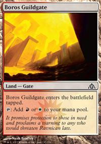 Boros Guildgate - Dragon's Maze