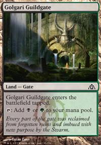 Golgari Guildgate - Dragon's Maze