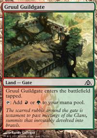 Gruul Guildgate - Dragon's Maze
