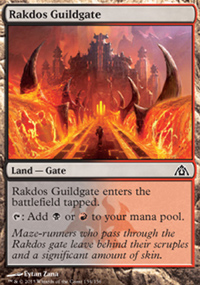 Rakdos Guildgate - Dragon's Maze