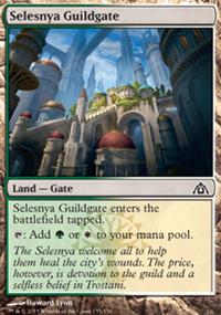 Selesnya Guildgate - Dragon's Maze