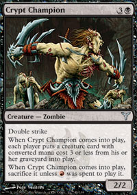 Crypt Champion - Dissension