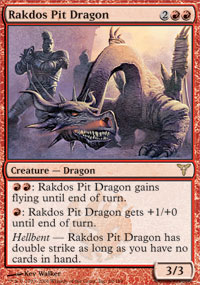 Rakdos Pit Dragon - Dissension