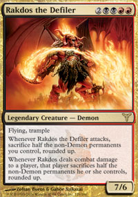 Rakdos the Defiler - Dissension