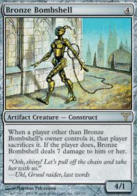 Bronze Bombshell - Dissension