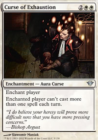 Curse of Exhaustion - Dark Ascension
