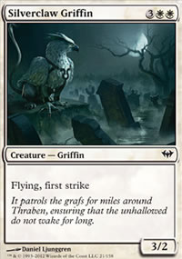 Silverclaw Griffin - Dark Ascension