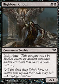 Highborn Ghoul - Dark Ascension