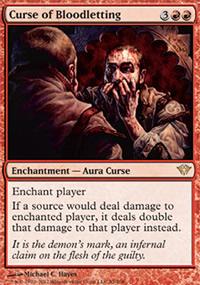 Curse of Bloodletting - Dark Ascension