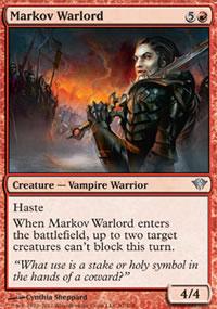 Markov Warlord - Dark Ascension