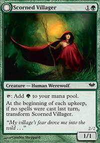 Scorned Villager - Dark Ascension