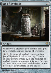 Jar of Eyeballs - Dark Ascension