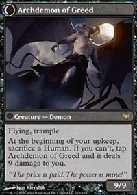 Archdemon of Greed - Dark Ascension