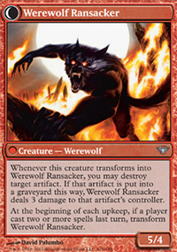 Werewolf Ransacker - Dark Ascension