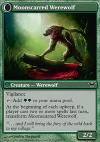 Moonscarred Werewolf - Dark Ascension