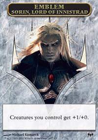 Emblem Sorin, Lord of Innistrad - Dark Ascension