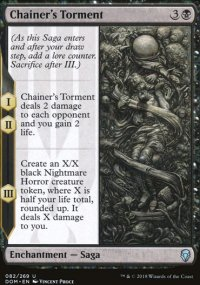 Chainer's Torment - Dominaria