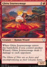 Ghitu Journeymage - Dominaria