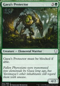 Gaea's Protector - Dominaria