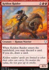 Keldon Raider - Dominaria