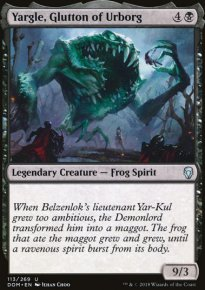 Yargle, Glutton of Urborg - Dominaria