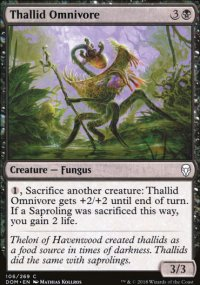 Thallid Omnivore - Dominaria