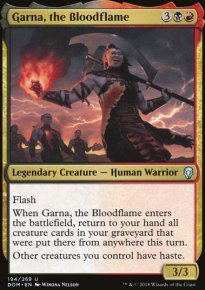 Garna, the Bloodflame - Dominaria
