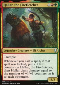 Hallar, the Firefletcher - Dominaria