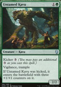 Untamed Kavu - Dominaria
