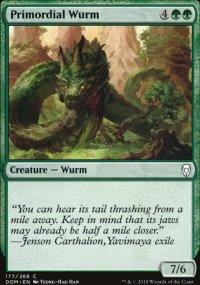 Primordial Wurm - Dominaria