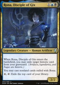 Rona, Disciple of Gix - Dominaria