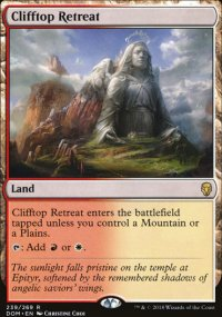 Clifftop Retreat - Dominaria