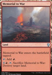 Memorial to War - Dominaria