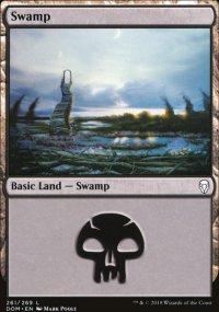 Swamp 4 - Dominaria