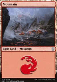 Mountain 3 - Dominaria