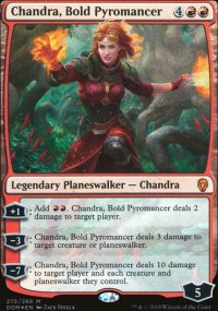 Chandra, Bold Pyromancer - Dominaria