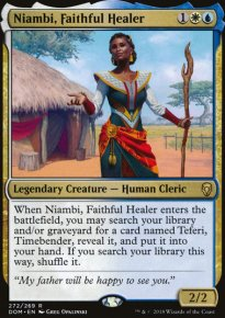 Niambi, Faithful Healer - Dominaria