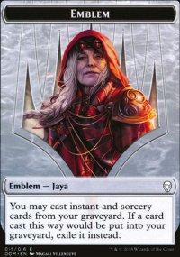 Emblem Jaya Ballard - Dominaria
