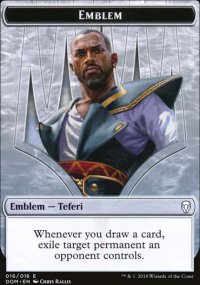 Emblem Teferi, Hero of Dominaria - Dominaria