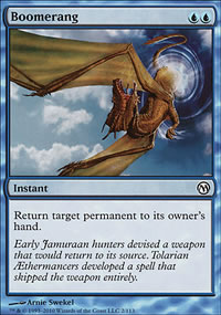 Boomerang - Duels of the Planeswalkers