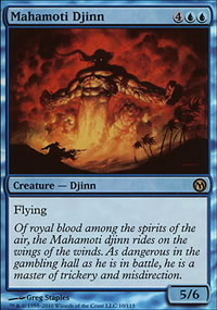 Mahamoti Djinn - Duels of the Planeswalkers