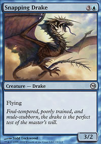 Snapping Drake - Duels of the Planeswalkers