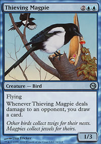 Thieving Magpie - Duels of the Planeswalkers