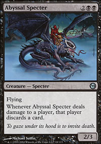 Abyssal Specter - Duels of the Planeswalkers