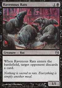 Ravenous Rats - Duels of the Planeswalkers
