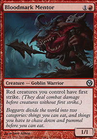 Bloodmark Mentor - Duels of the Planeswalkers